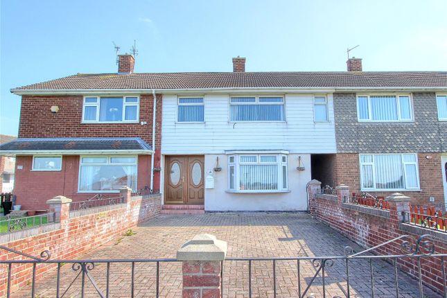 4 bed terraced house for sale in Farndale Walk, Eston, Middlesbrough TS6