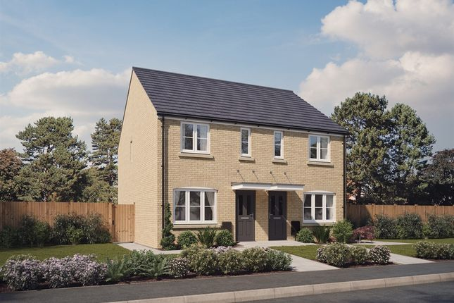 """Thumbnail Semi-detached house for sale in """"The Hanbury """" at Spetchley, Worcester"""