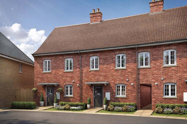 """Thumbnail Semi-detached house for sale in """"The Harlington Elite"""" at Kiln Drive, Stewartby, Bedford"""
