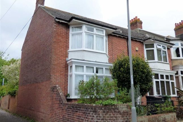 Thumbnail End terrace house for sale in Old Castle Road, Weymouth
