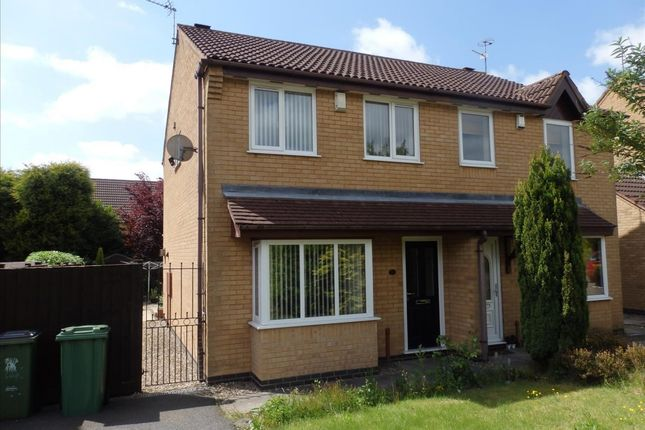 Thumbnail Semi-detached house to rent in Acacia Close, Leicester Forest East, Leicester