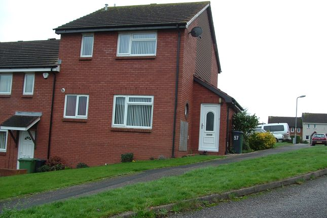 Thumbnail Terraced house to rent in Ashleigh, Exeter