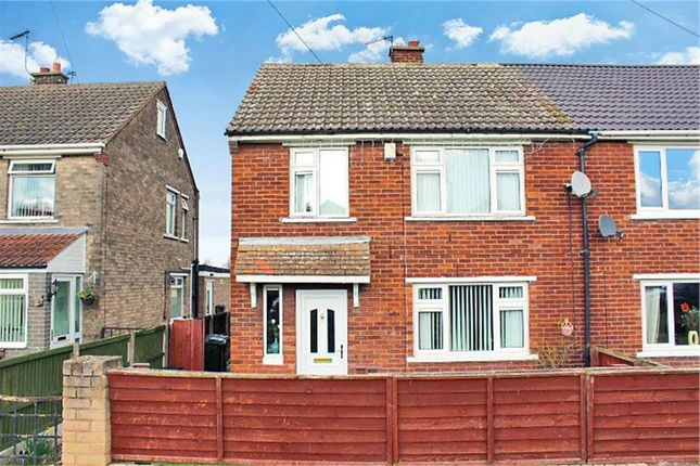 Thumbnail Semi-detached house for sale in Hesley Road, New Rossington, Doncaster, South Yorkshire