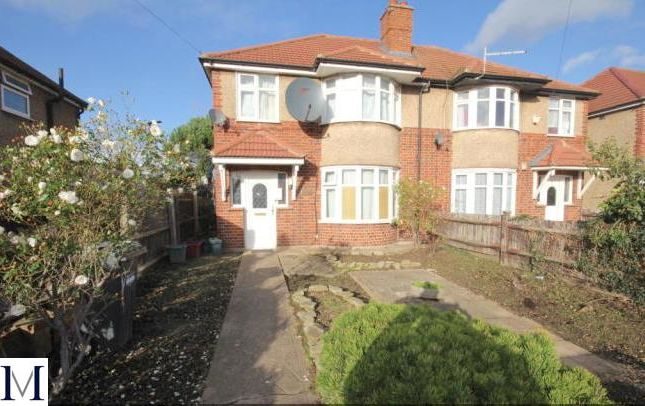 Thumbnail Semi-detached house for sale in Browning Way, Heston, Hounslow