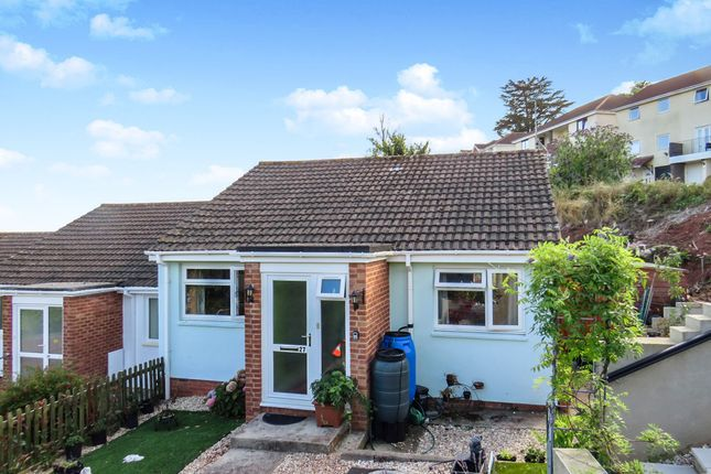 Thumbnail Terraced bungalow for sale in Velland Avenue, Torquay
