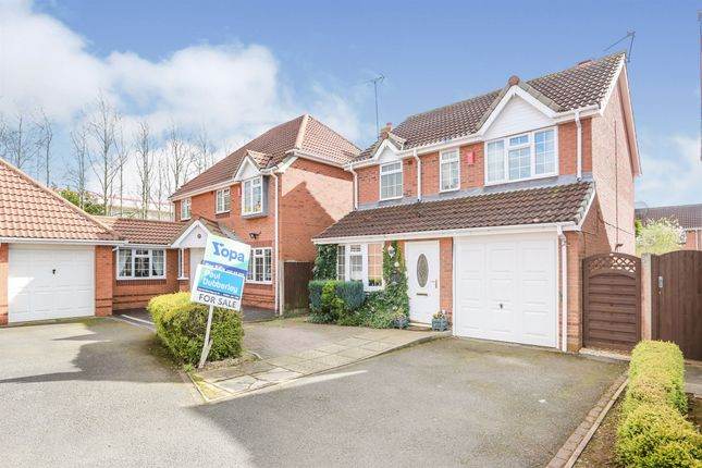 Thumbnail Detached house for sale in Elford Grove, Bilston
