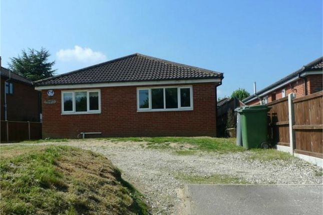 Thumbnail Detached bungalow for sale in Chapel Road, Beighton, Norwich, Norfolk