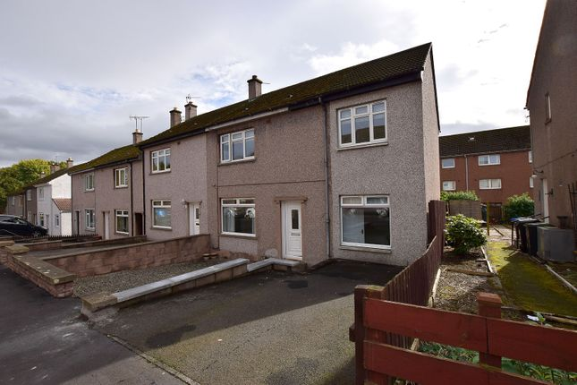 Thumbnail End terrace house for sale in Queens Way, Earlston