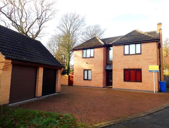 Thumbnail Detached house for sale in Treeneuk Close, Chesterfield, Derbyshire