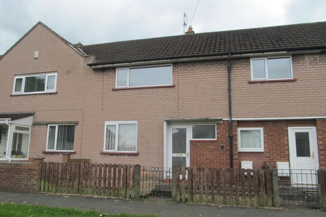 Thumbnail Terraced house to rent in Whinsmoor Drive, Carlisle