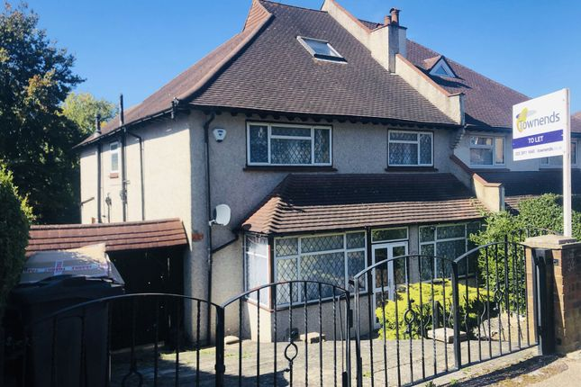 5 bed semi-detached house to rent in Downs Court Road, Purley, Surrey CR8