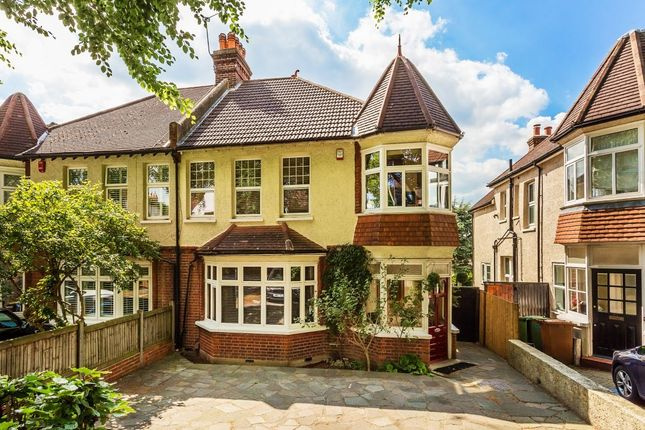 Thumbnail Semi-detached house for sale in Beeches Avenue, Carshalton