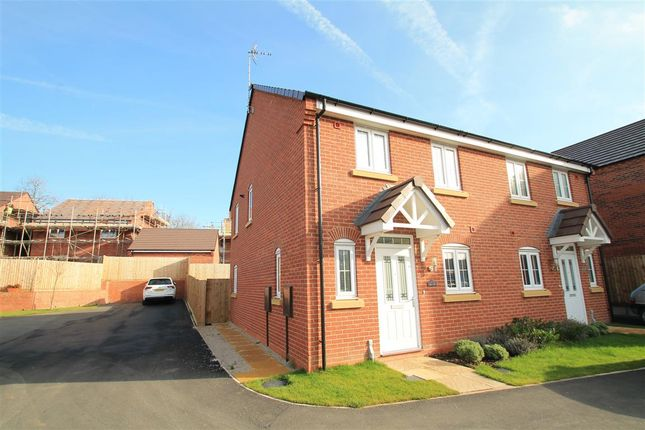 Semi-detached house for sale in Keepers Croft, Ashbourne