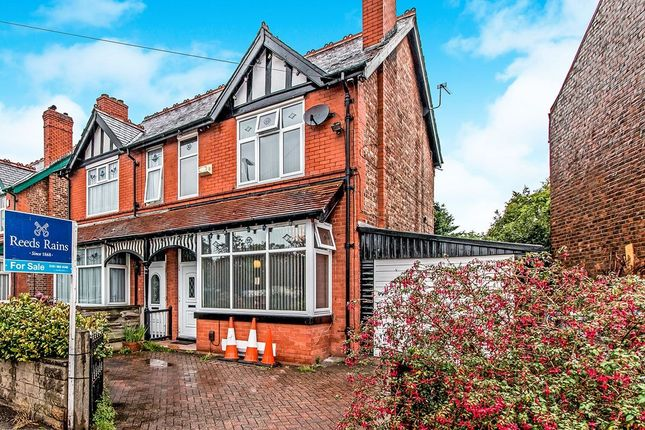 Thumbnail Semi-detached house for sale in Old Hall Road, Sale
