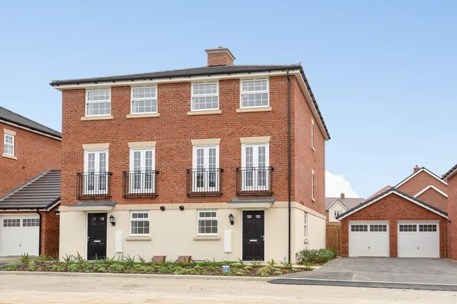 Thumbnail Town house to rent in Emmbrook Place, Wokingham