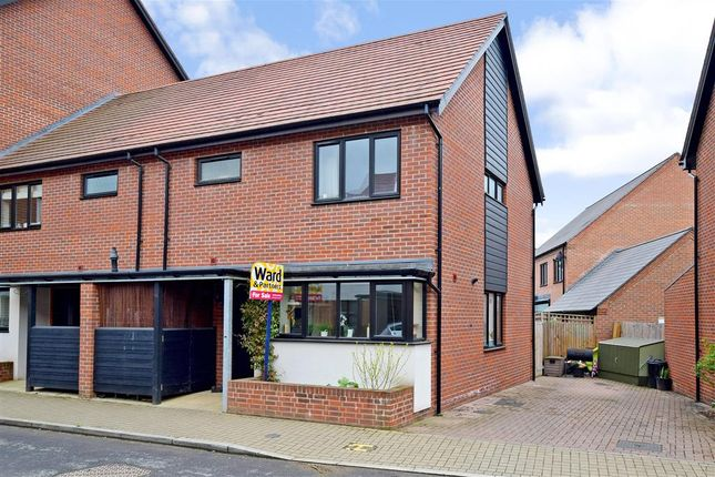 Thumbnail Semi-detached house for sale in Hawley Drive, West Malling, Kent