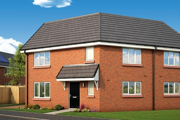 "Thumbnail Property for sale in ""The Stirling At Abbotsway"" at Inchinnan Road, Paisley"