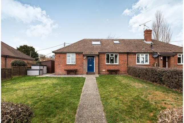 Thumbnail Bungalow for sale in South Warnborough, Hook, Hampshire