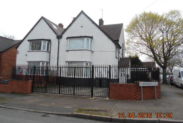 Thumbnail Semi-detached house for sale in Finnemore Road, Birmingham