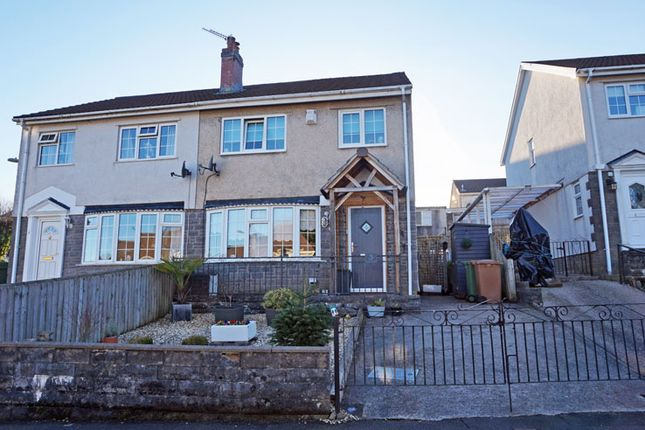3 bed semi-detached house for sale in Trinity Close, Ystrad Mynach, Hengoed CF82