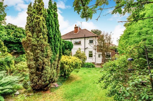 Garden of Brinnington Road, Brinnington, Stockport, Cheshire SK5