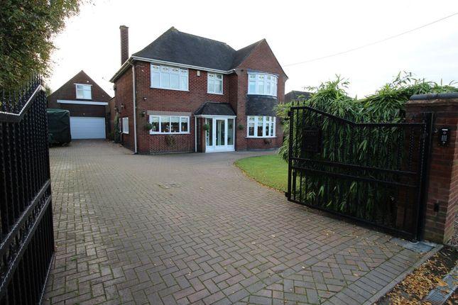 Thumbnail Detached house for sale in Nuneaton Road, Bulkington, Bedworth