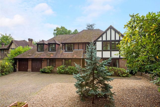 Thumbnail 5 bedroom detached house for sale in Knowle Hill, Virginia Water, Surrey