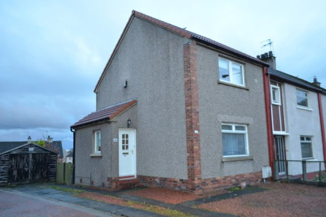 Thumbnail End terrace house to rent in Windsor Road, Falkirk