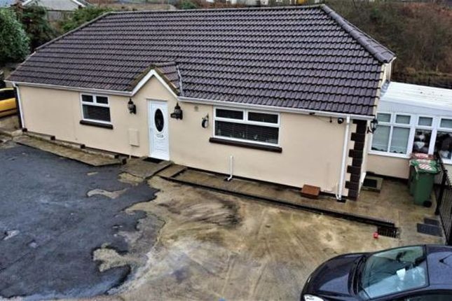 Thumbnail Detached bungalow for sale in Bedwellty Road, Elliots Town, New Tredegar