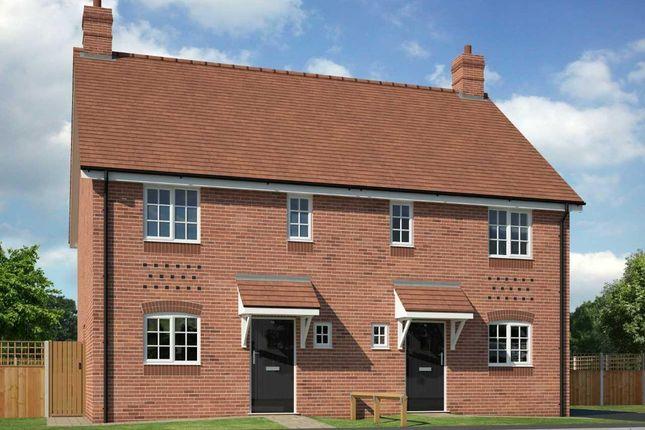 Thumbnail Semi-detached house for sale in Chantry Close, Off Poynton Road, Shawbury, Shrewsbury