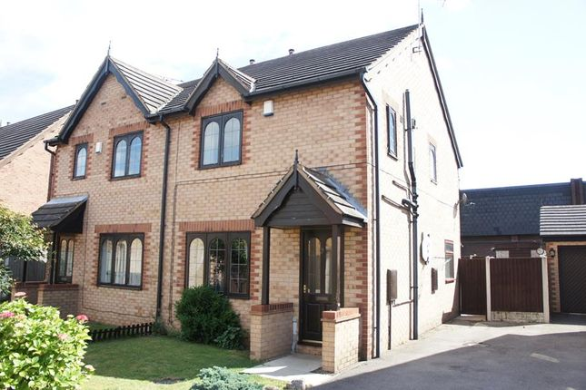 Thumbnail Semi-detached house for sale in 7 Worral Court, Edenthorpe, Doncaster