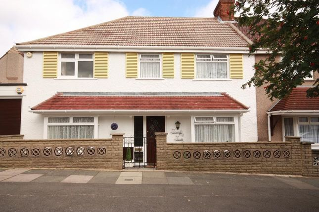 Thumbnail Semi-detached house to rent in The Fairway, East Acton, London