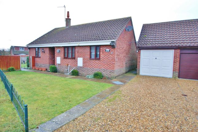Thumbnail Detached bungalow for sale in Rosa Close, Spixworth, Norwich