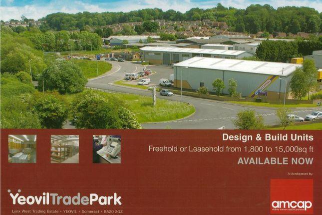 Thumbnail Business park to let in Yeovil Trade Park, Yeovil