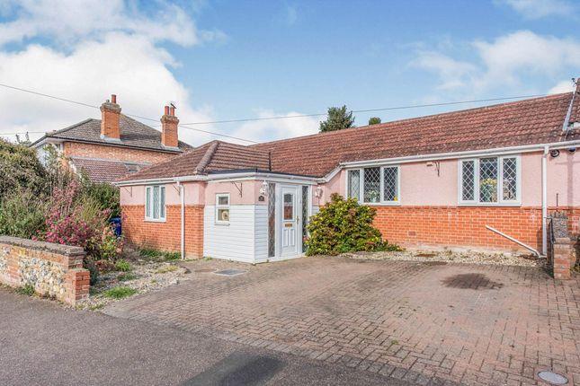 Thumbnail Semi-detached bungalow for sale in Highbury Crescent, Bury St. Edmunds