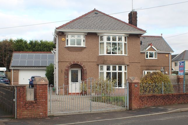 Thumbnail Detached house for sale in Capel Road, Clydach, Swansea.