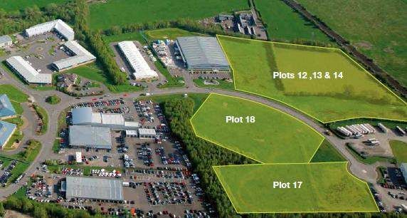 Thumbnail Land for sale in Broadleys Business Park, Stirling