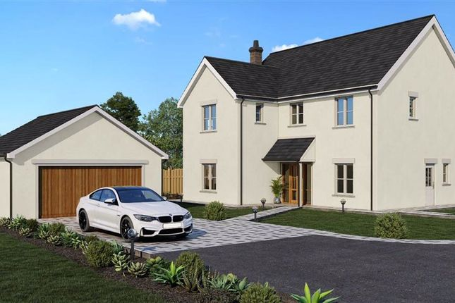 Thumbnail Detached house for sale in The Fallows, Devauden, Near Chepstow, Monmouthshire