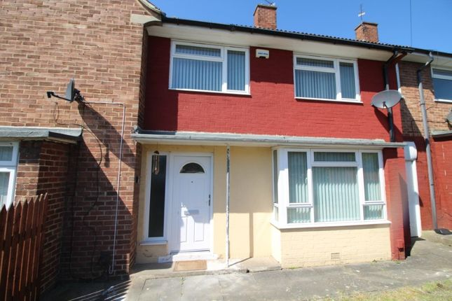 Thumbnail Terraced house to rent in Dunkeld Close, Stockton-On-Tees