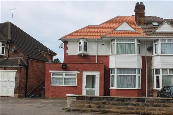 Thumbnail Semi-detached house to rent in Grestone Avenue, Handsworth Wood, Birmingham