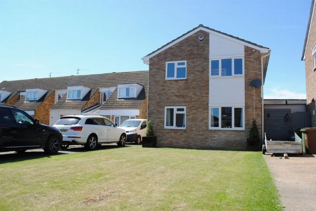 Thumbnail Detached house for sale in Reynard Way, Kingsthorpe, Northampton