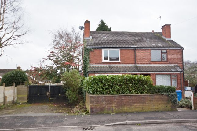 Thumbnail Semi-detached house for sale in Queen Street, Burntwood