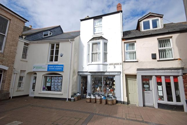 Thumbnail Commercial property for sale in Lower Brook Street, Teignmouth, Devon