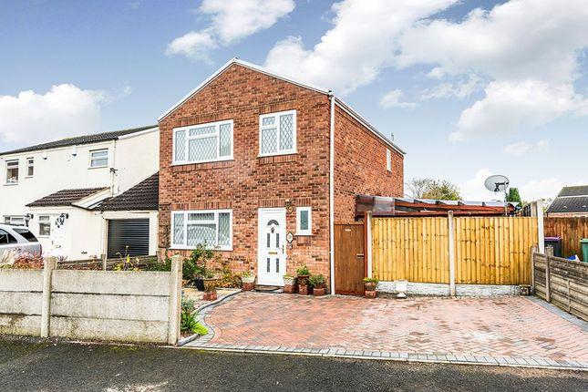 Thumbnail Detached house for sale in Millstream Way, Leegomery, Telford