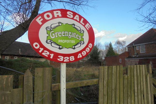Thumbnail Land for sale in Burney Lane, Ward End