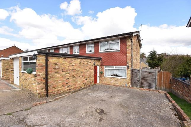Thumbnail End terrace house to rent in Woodley Hill, Chesham