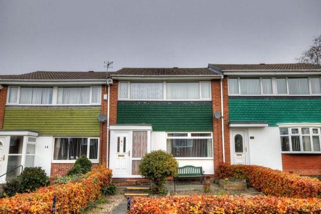 Thumbnail Terraced house for sale in Denham Walk, Chapel House, Newcastle Upon Tyne