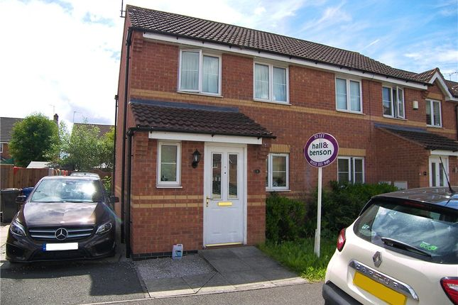2 bed semi-detached house to rent in Rose Close, Chellaston, Derby DE73