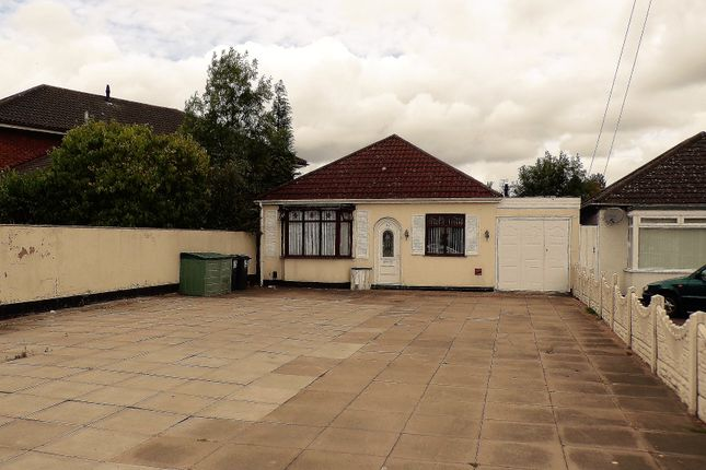 Thumbnail Detached bungalow for sale in Church Road, Sheldon, Birmingham