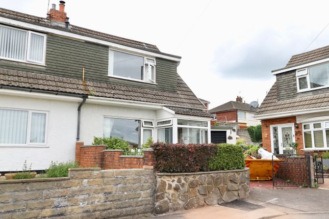 Thumbnail Semi-detached house for sale in Andrews Close, Heolgerrig, Merthyr Tydfil